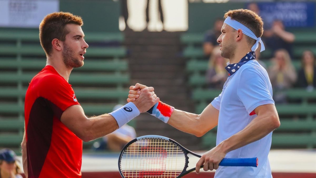 Dimitrov en Coric positief getest op coronavirus na Adria Tour