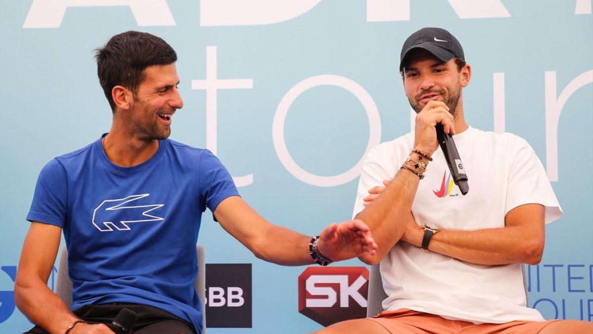 Novak Djokovic & Grigor Dimitrov