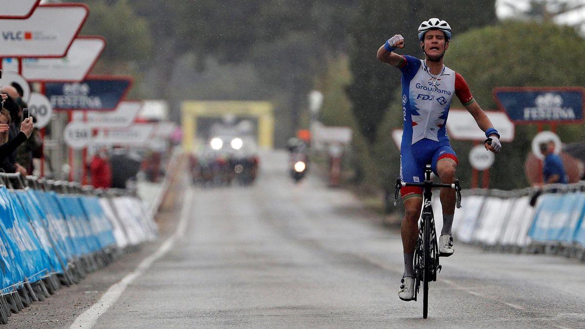 Miles Scotson vince in solitaria a Ondara - Volta Valenciana, tappa 1 - Imago pub only in ITAxGERxSUIxAUT