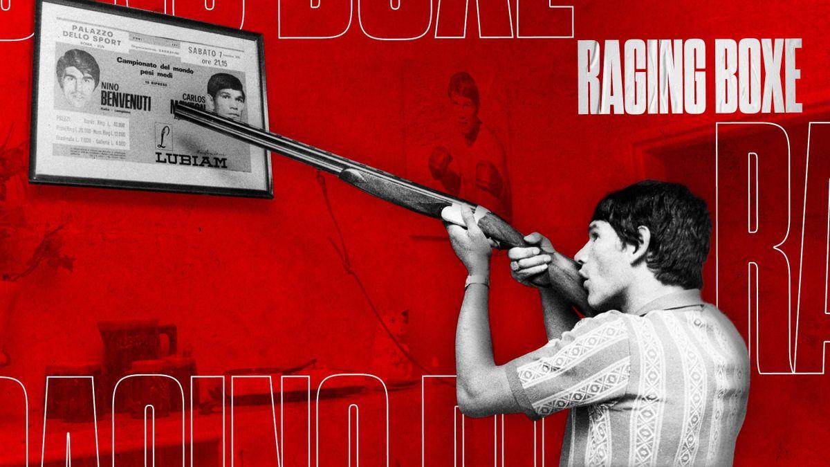 Carlos Monzon - Raging Boxe (Visuel - Quentin Guichard)