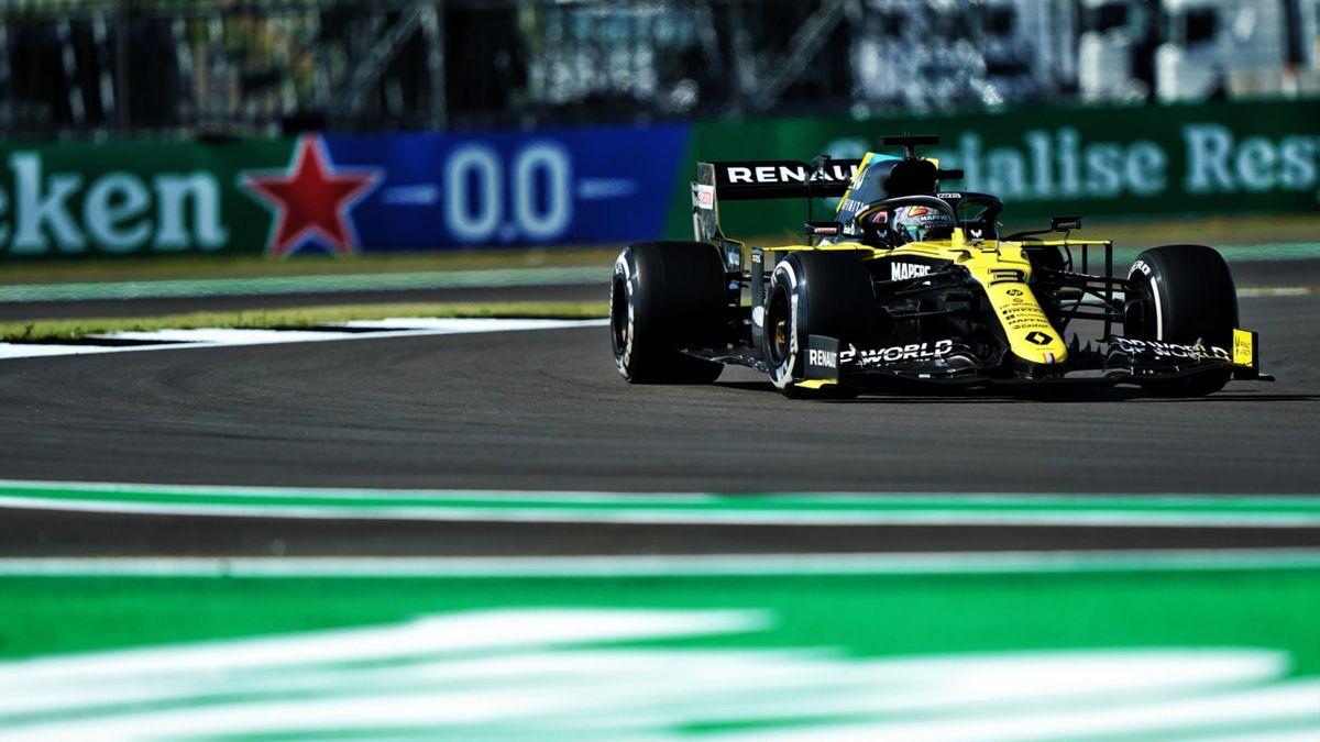 Daniel Ricciardo (Renault) au Grand Prix de Grande-Bretagne 2020