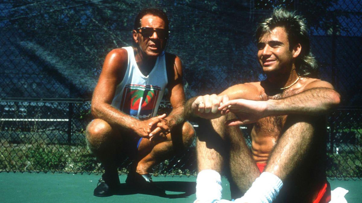 Nick Bollettieri și Andre Agassi