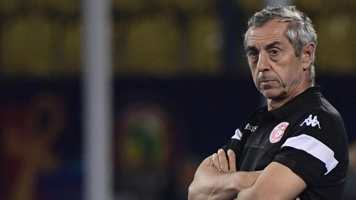 Alain Giresse, sélectionneur de la Tunisie