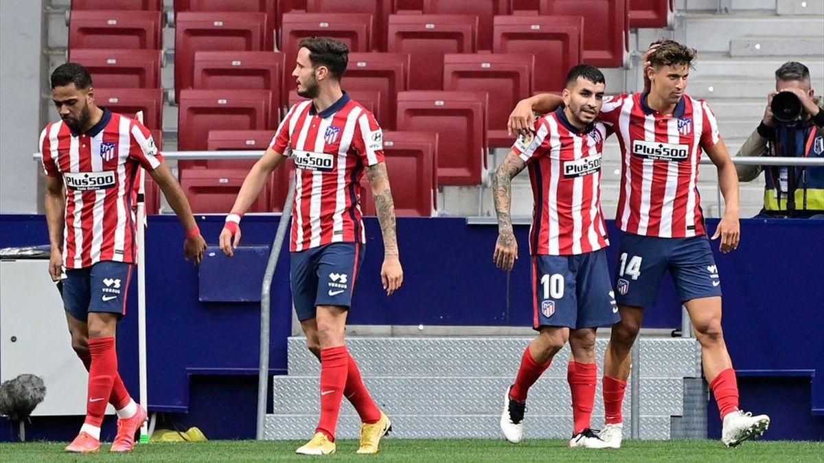 Atletico Madrid a câștigat cu 2-0 contra celor de la Huesca