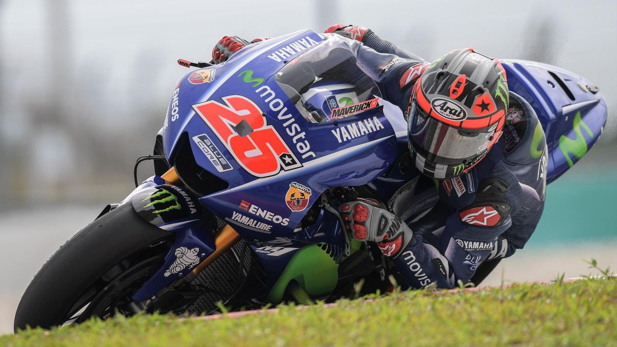 Maverick Vinales fastest on second day in Qatar