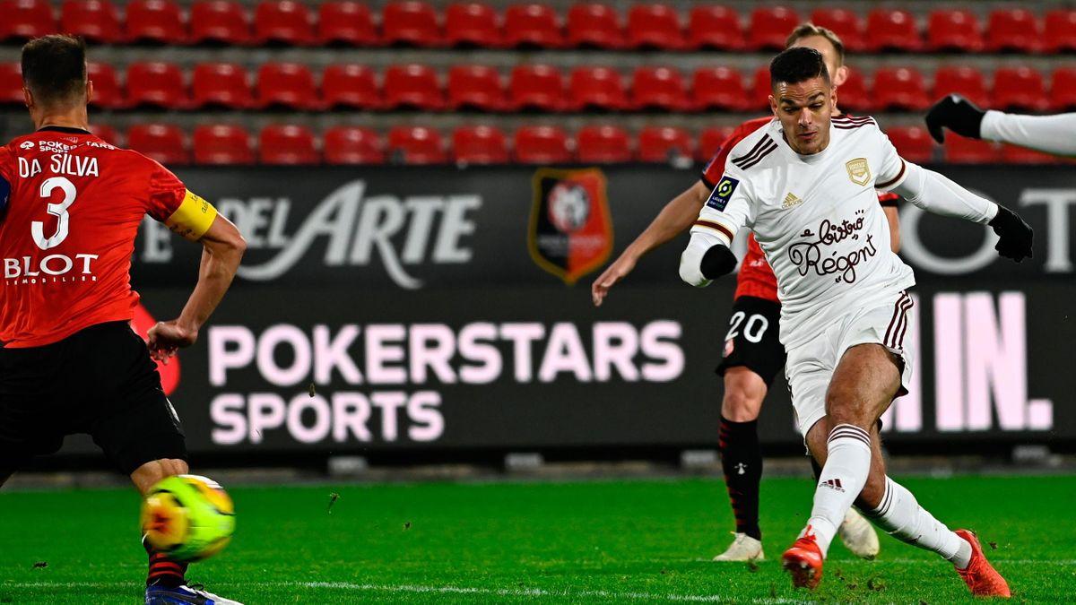 Hatem Ben Arfa (Bordeaux) buteur face au Stade Rennais en Ligue 1