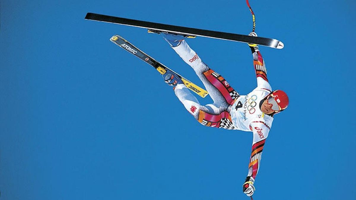 Hermann Maier - Olympics Nagano 1998