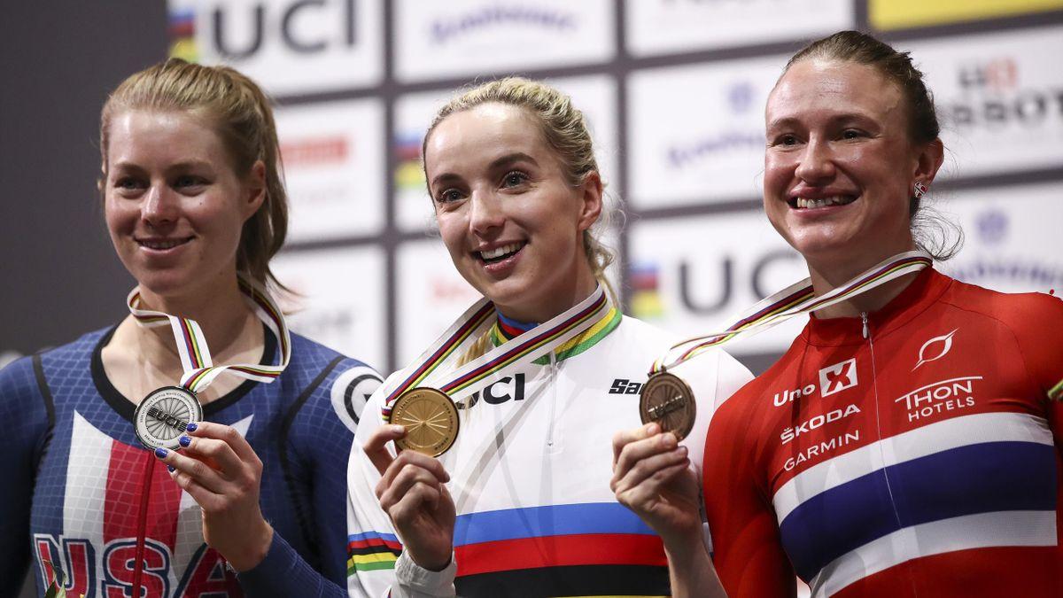Anita Yvonne Stenberg tok bronse i poengrittet i VM 2020