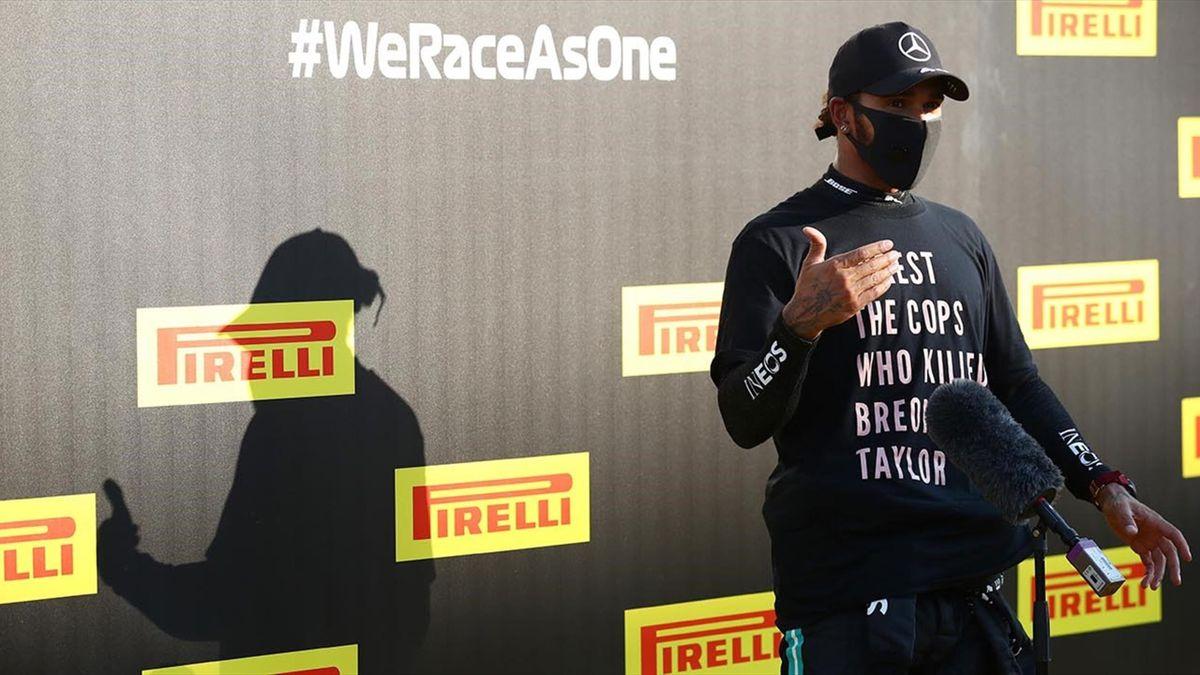 Lewis Hamilton, un susținător al mișcării #BlackLivesMatter