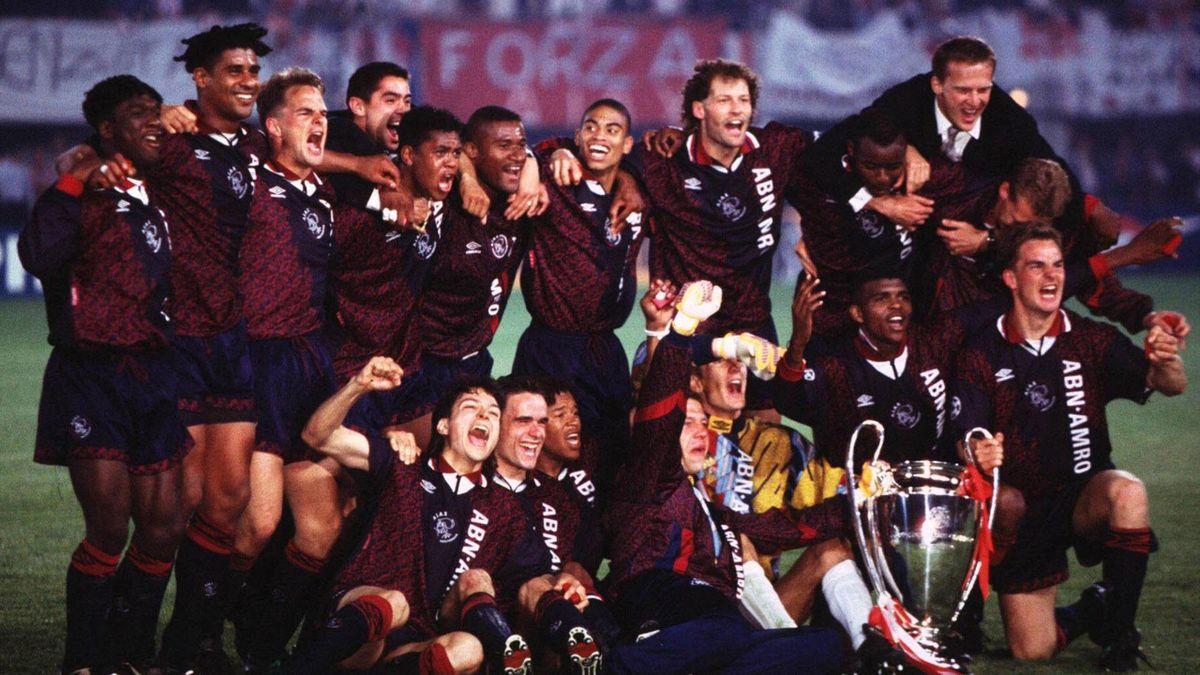 L'Ajax Amsterdam vainqueur de la Ligue des champions 1995