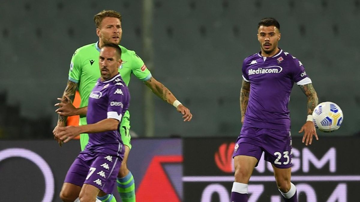 Lorenzo Venuti e Franck Ribery, Fiorentina