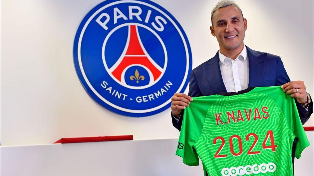 Keylor Navas firma il rinnovo col PSG fino al 2024 - Getty Images