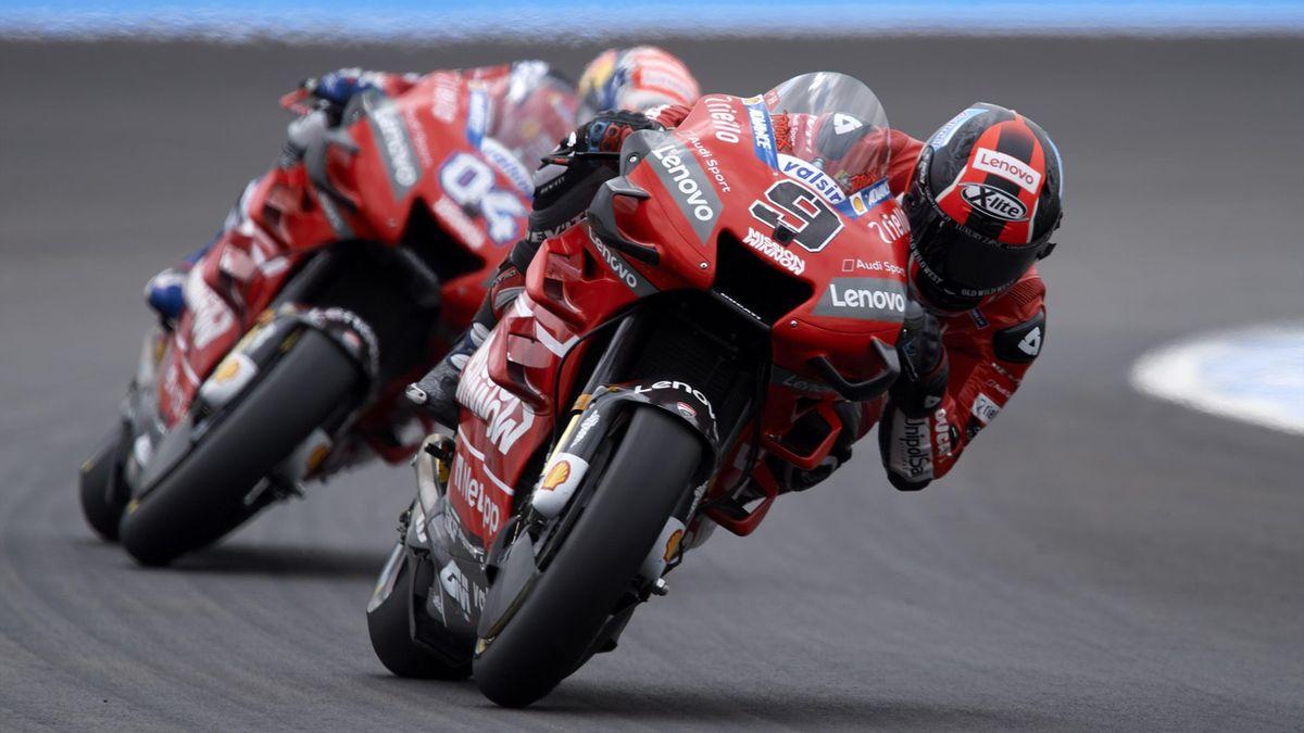 Danilo Petrucci, Andrea Dovizioso, Ducati, Getty Images