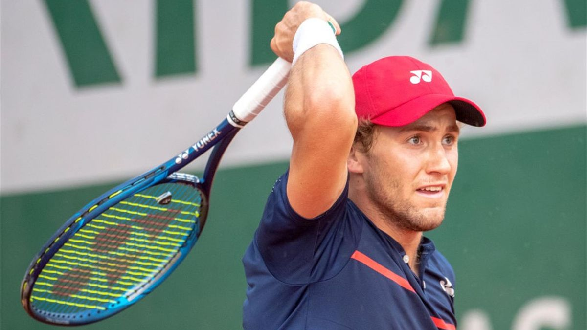 Casper Ruud i Rolland-Garros