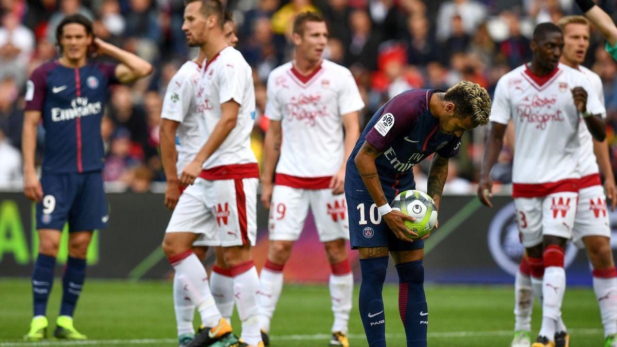 Neymar face à Bordeaux