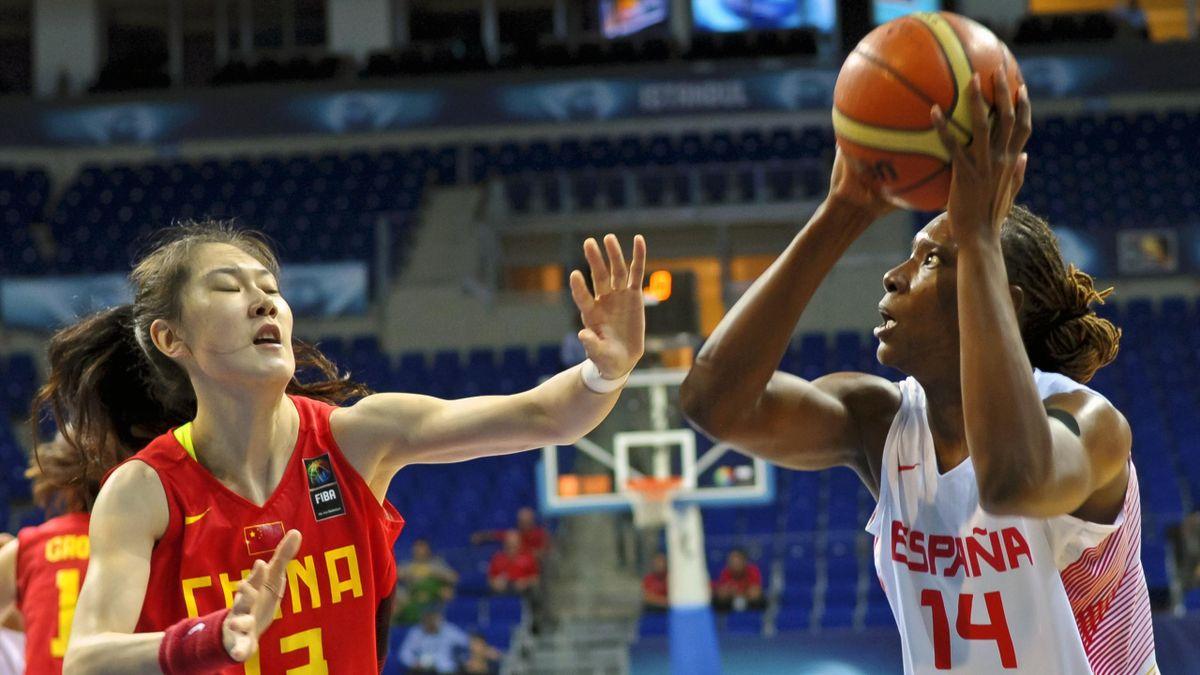 Sancho Lyttle (Espagne) contre Sun Mengran (Chine)