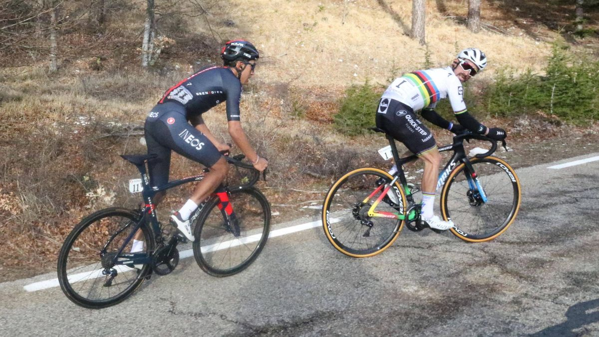 Alaphilippe, Bernal - Tour de la Provence 2021, stage 3 - Imago pub not in FRAxNED