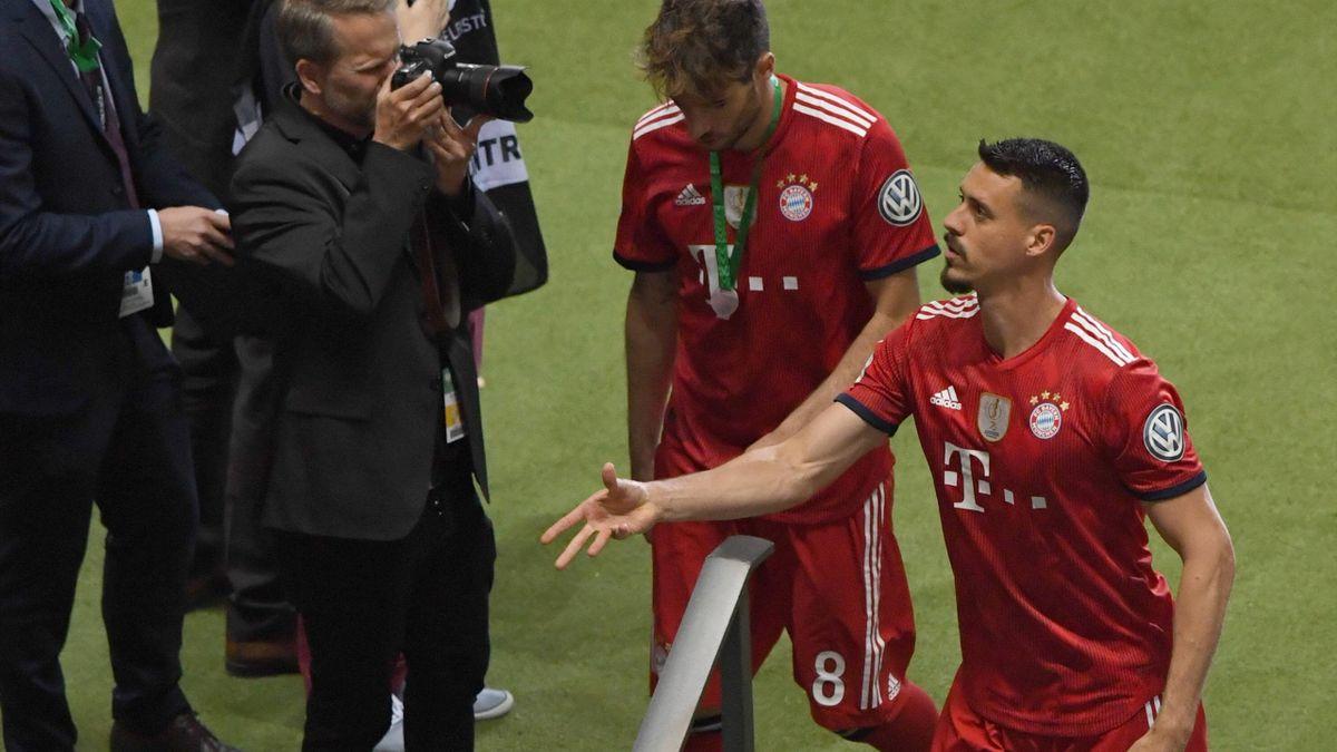 Sandro Wagner FC Bayern DFB-Pokalfinale