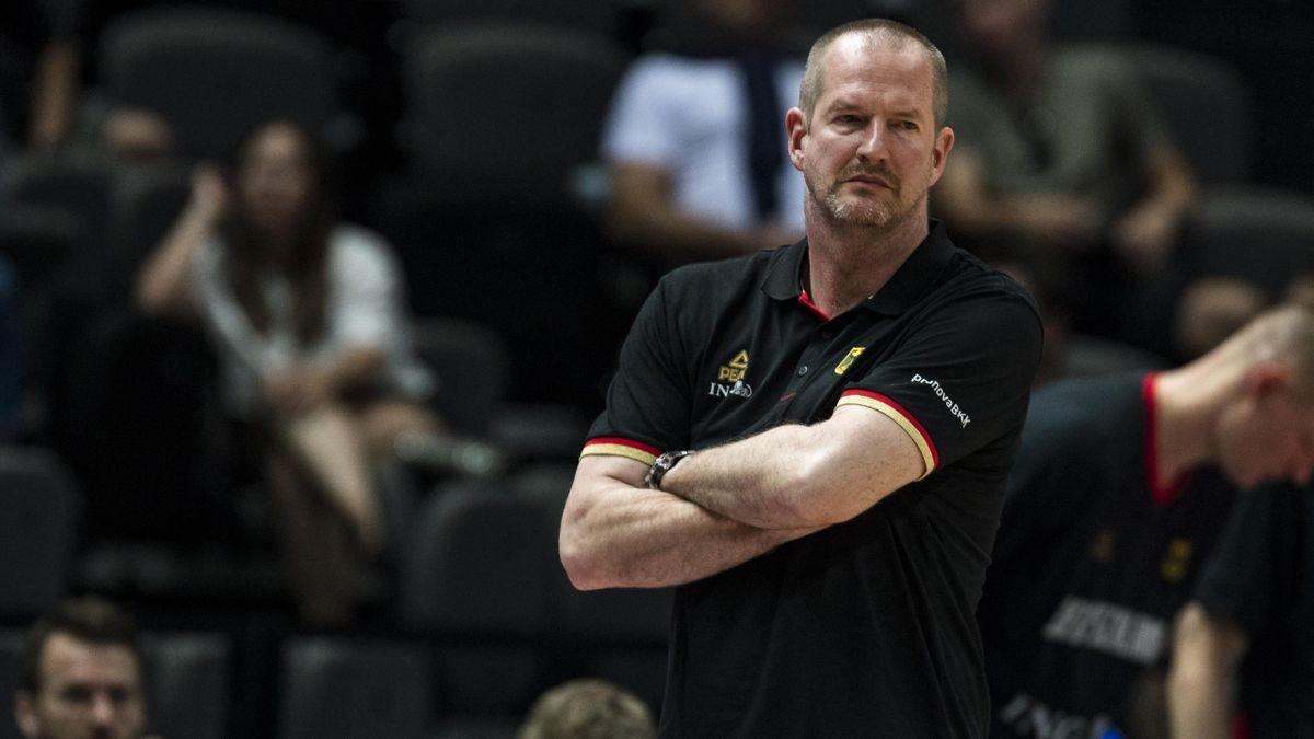 Baketball-Bundestrainer Henrik Rödl.