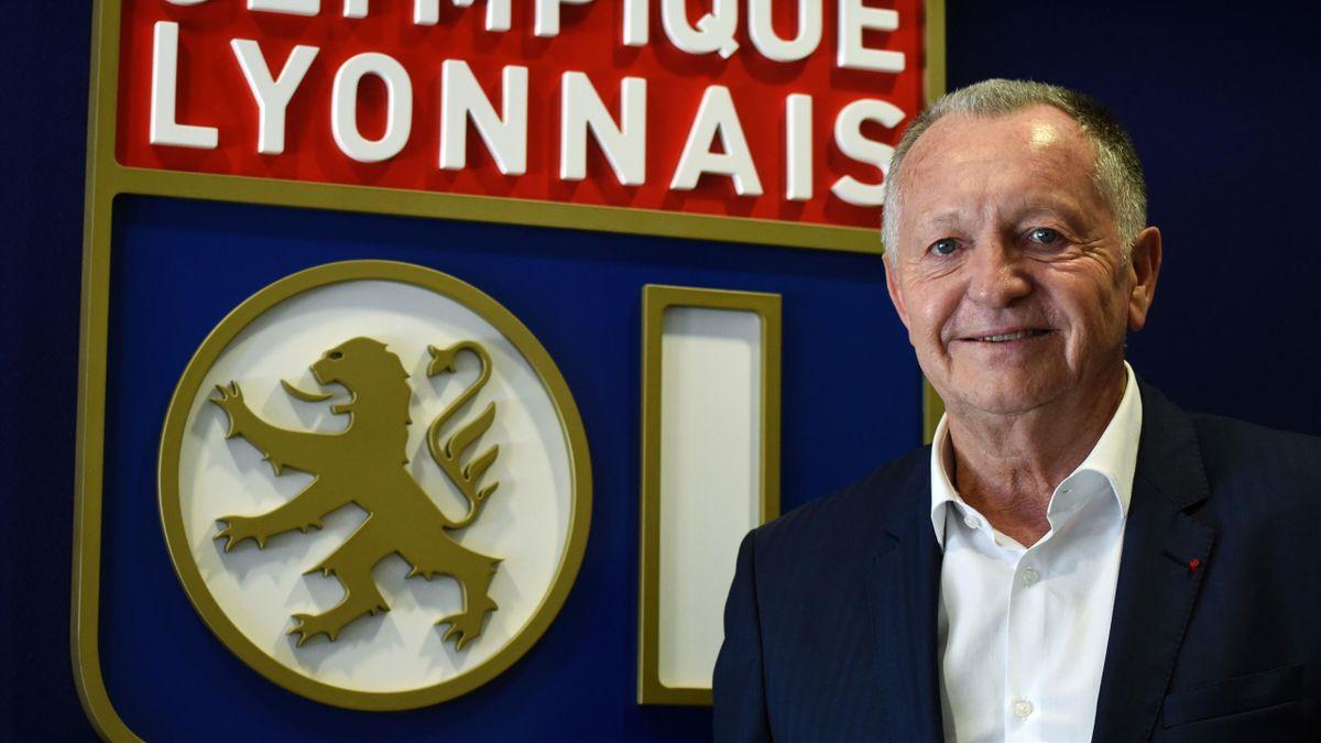 Jean-Michel Aulas, le patron de l'Olympique Lyonnais.