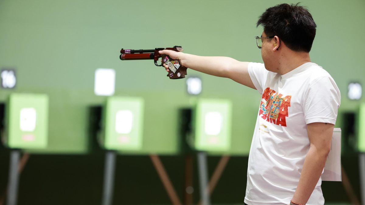 Pang Wei holt Bronze im Sportschießen