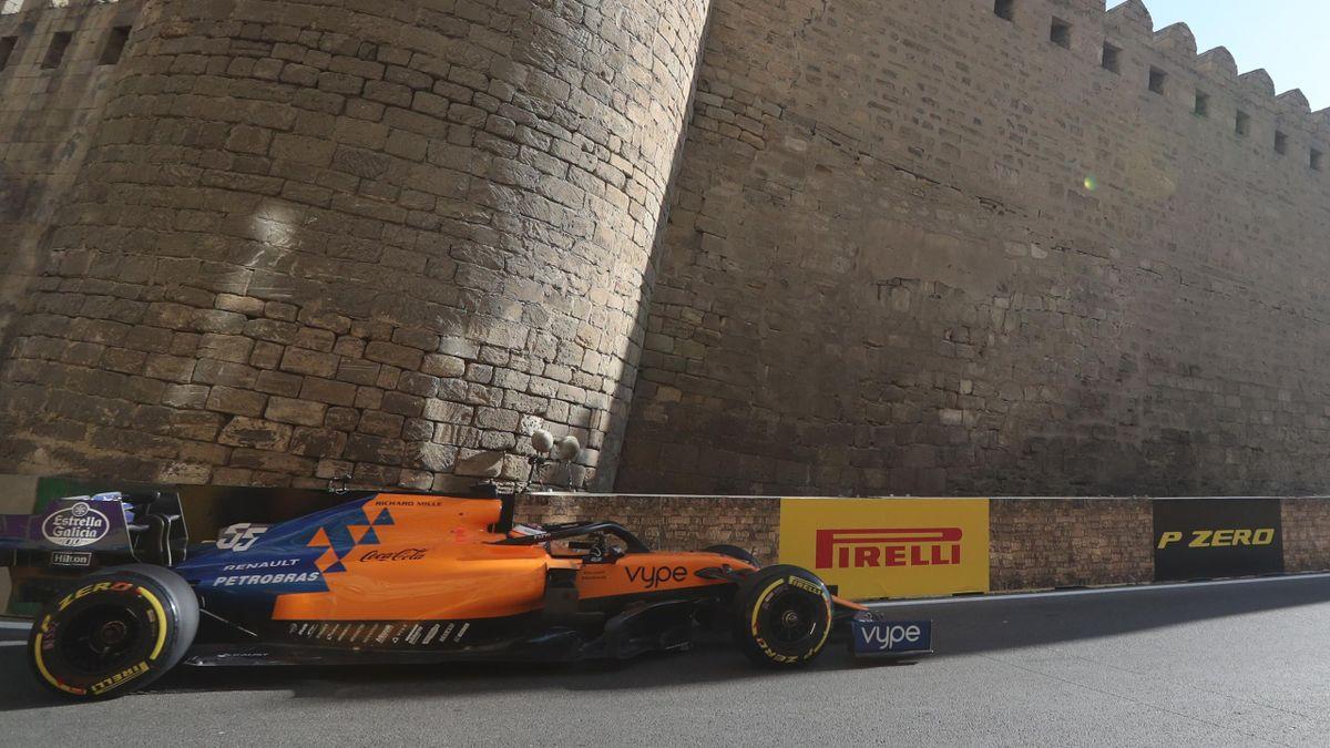 Carlos Sainz (McLaren) - Gran Premio de Azerbaiyán 2019