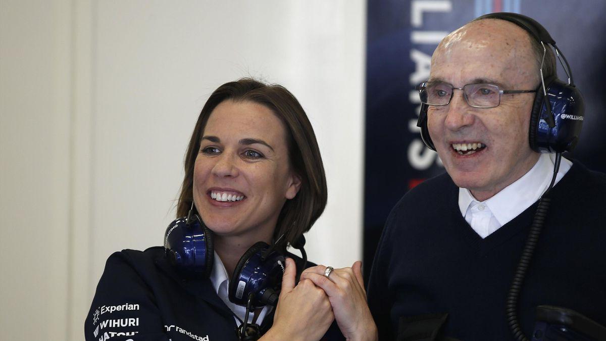 Frank Williams, Claire Williams - GP of Austria 2014
