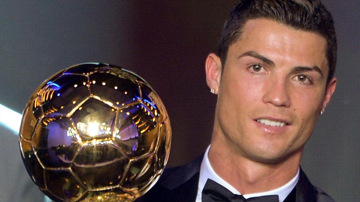 Cristiano Ronaldo, campeón del último Balón de Oro