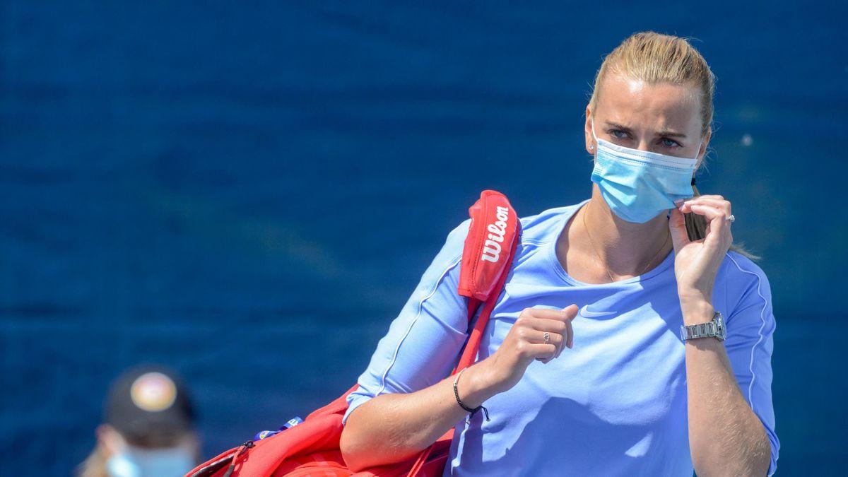 Petra Kvitova - din carantină, direct pe terenul de tenis