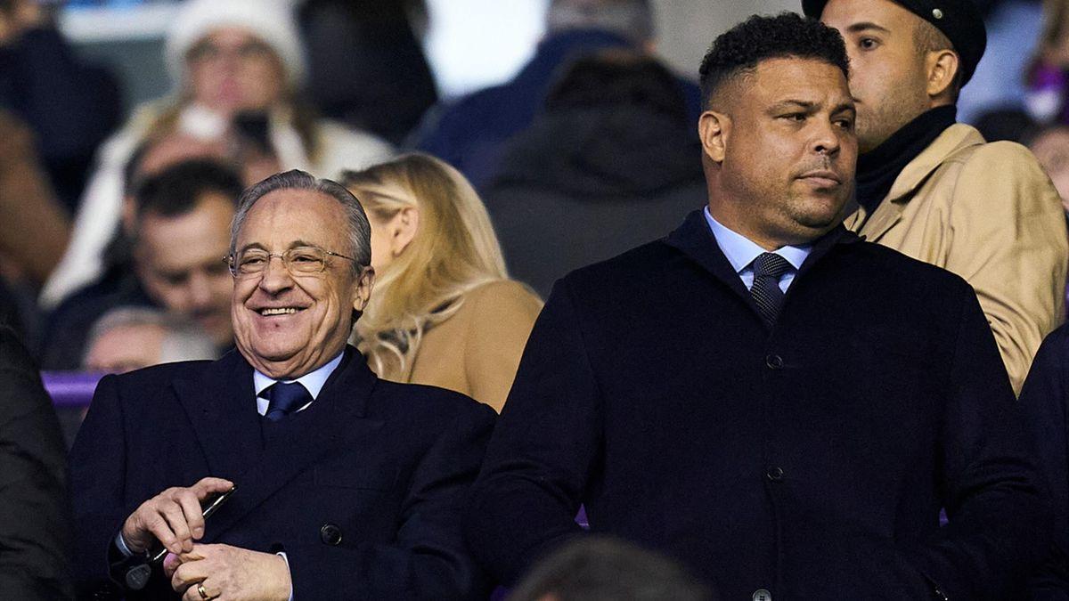 Ronaldo & Florentino Perez
