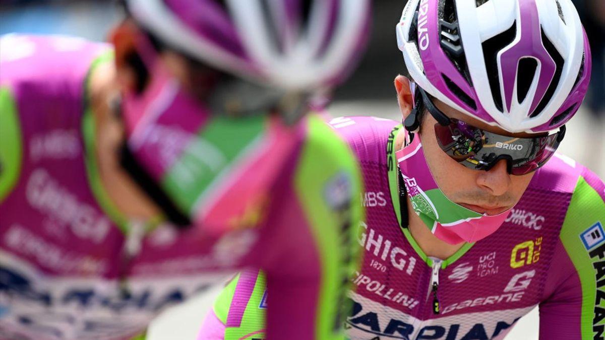 Umberto Marengo alla partenza della 7a tappa - Giro d'Italia 2021