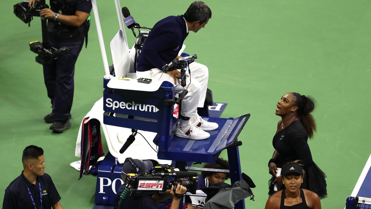 Serena Williams and umpire Carlos Ramos row in the US Open final