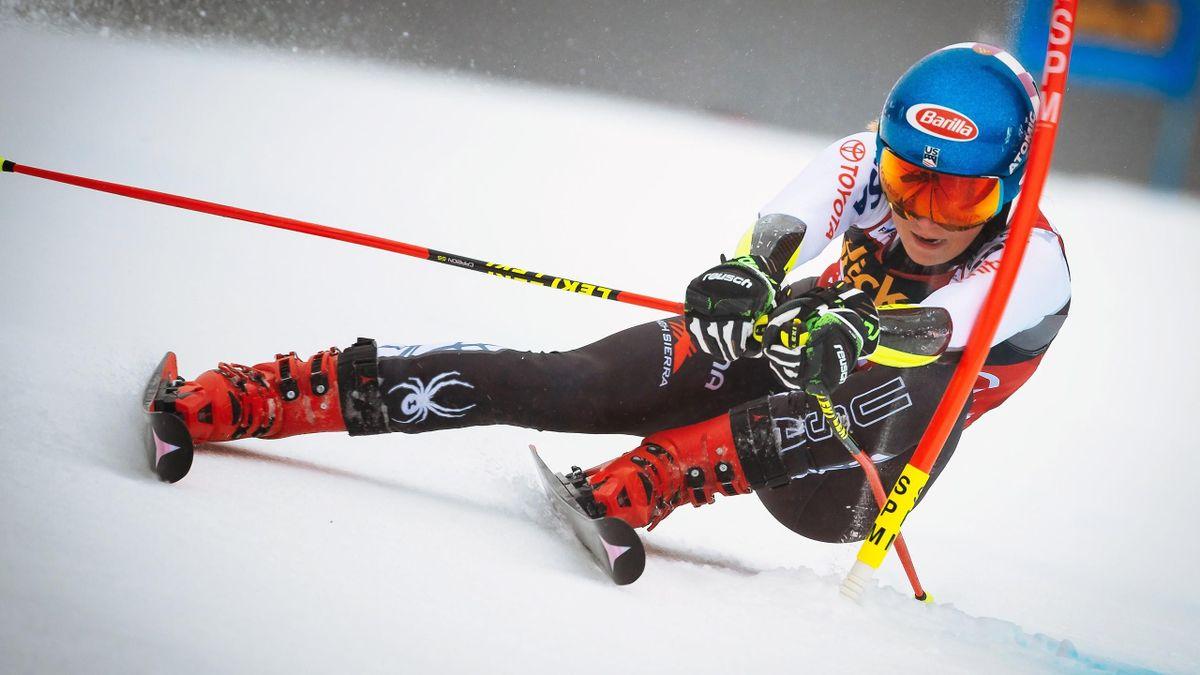 Mikaela Shiffrin in Maribor 2019