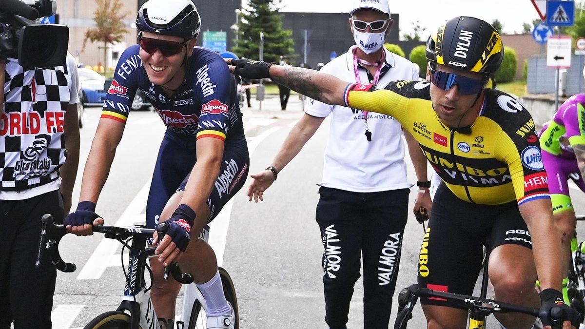 Tim Merlier, Dylan Groenewegen - Giro 2021