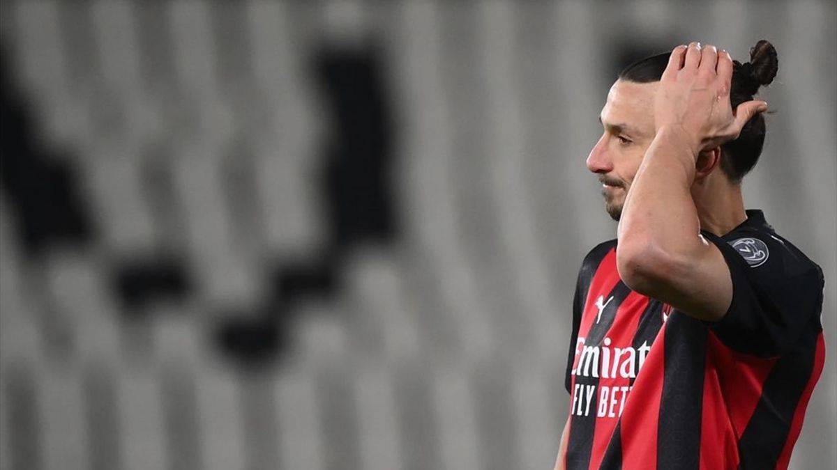 Ibrahimovic - Spezia-Milan - Serie A 2020/2021 - Getty Images