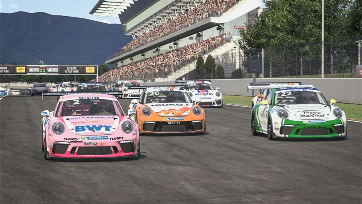 e-Porsche Supercup