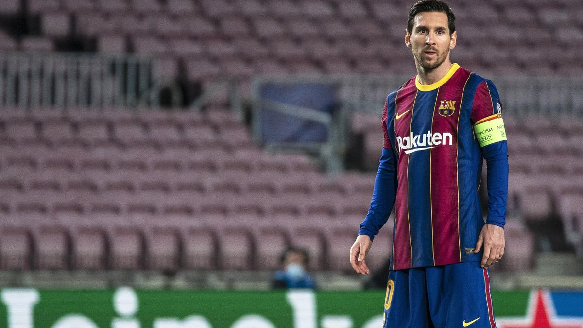 Leo Messi during the match between FC Barcelona and FC Dynamo Kyiv, corresponding to the week 4 of the UEFA Champions League, played at the Camp Nou Stadium, on 04th November 2020, in Barcelona, Spain