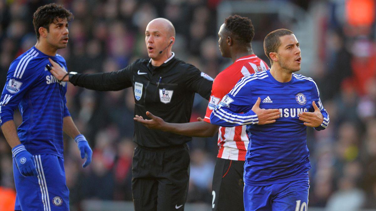 Eden Hazard, après son but avec Chelsea contre Southampton