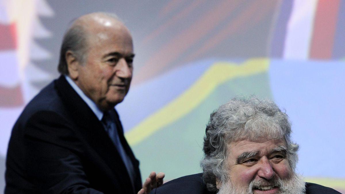 Chuck Blazer et Joseph Blatter - FIFA