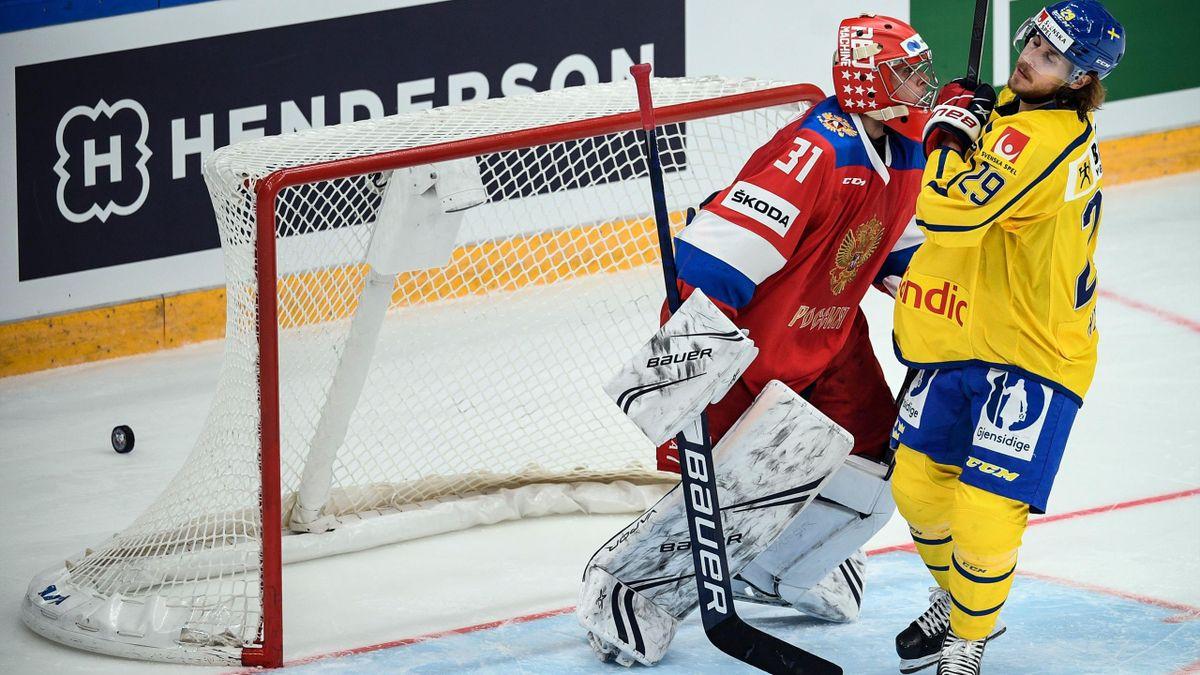 Сборная России по хоккею, Россия – Швеция