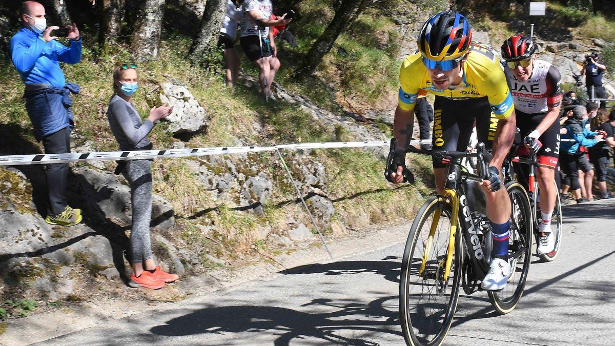 Roglic și Pogacar sunt principalii favoriți la tricoul galben în Turul Franței 2021