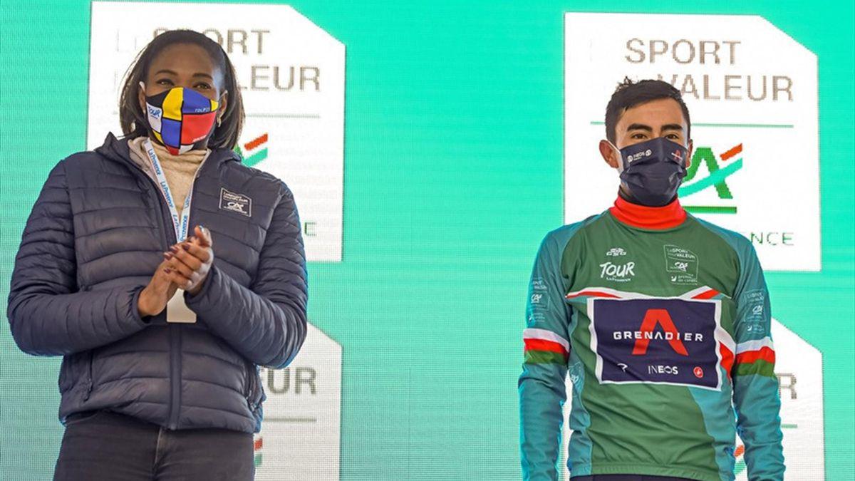 Ivan Sosa (Ineos-Grenadiers), vainqueur du Tour de la Provence