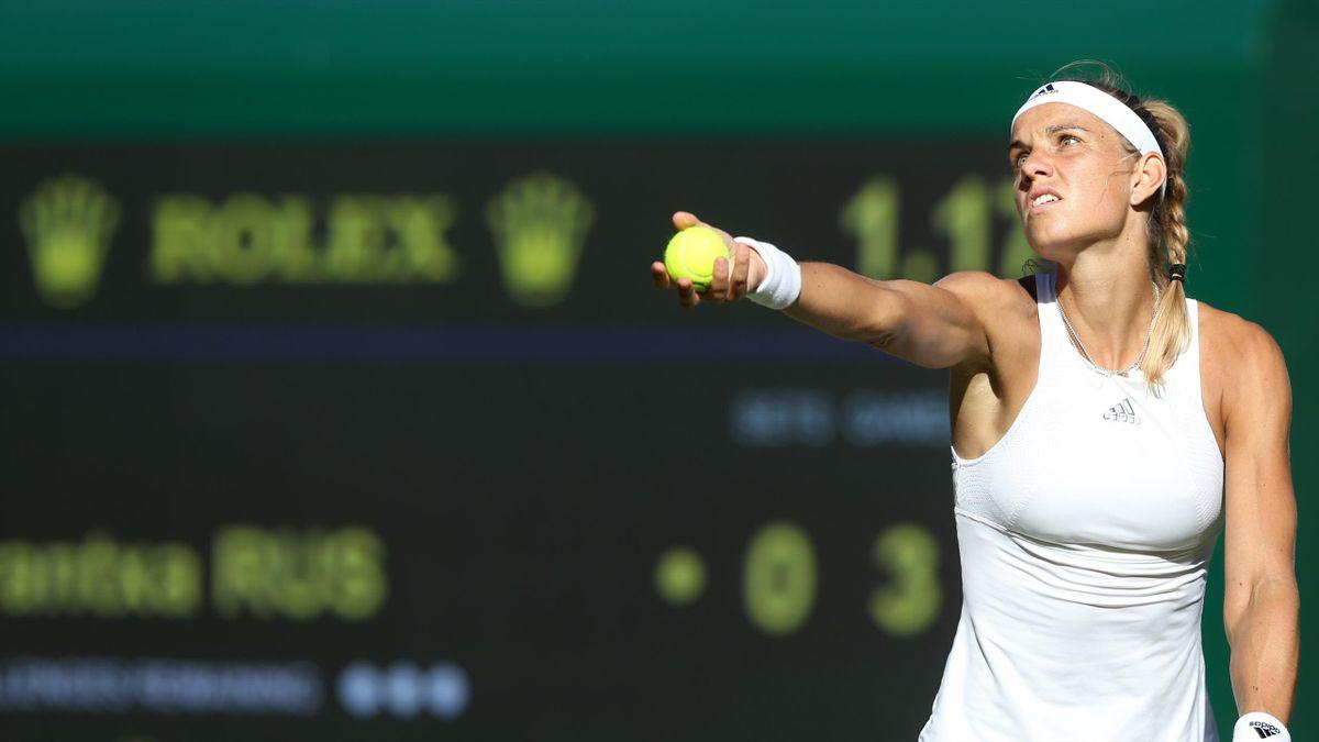 Wimbledon   Arantxa Rus kansloos tegen Sakkari