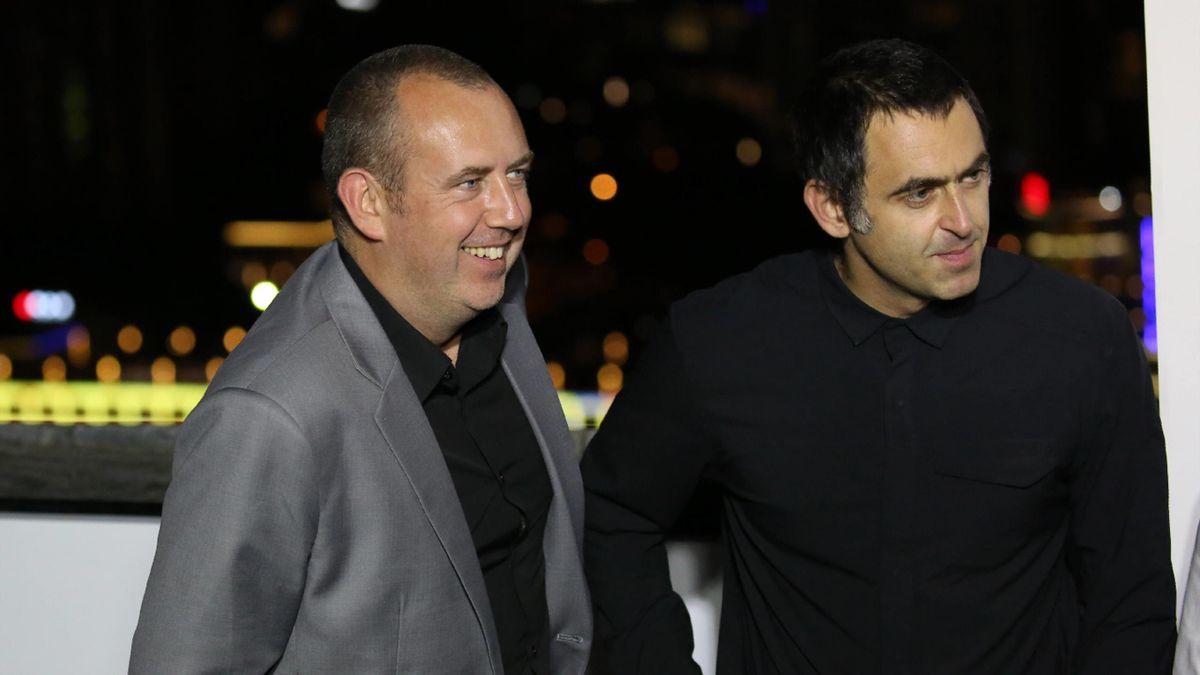 Ronnie O'Sullivan (rechts) und Mark Williams