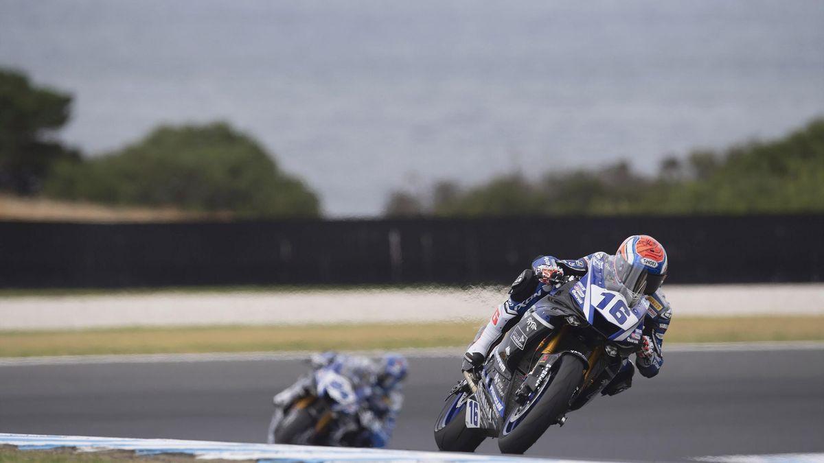 Jules Cluzel Yamaha Superbike