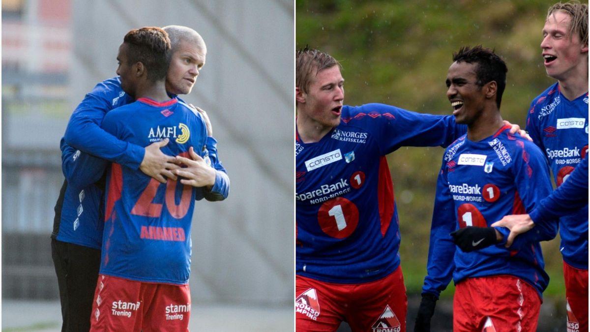 Gaute Helstrup og Mo Ahamed