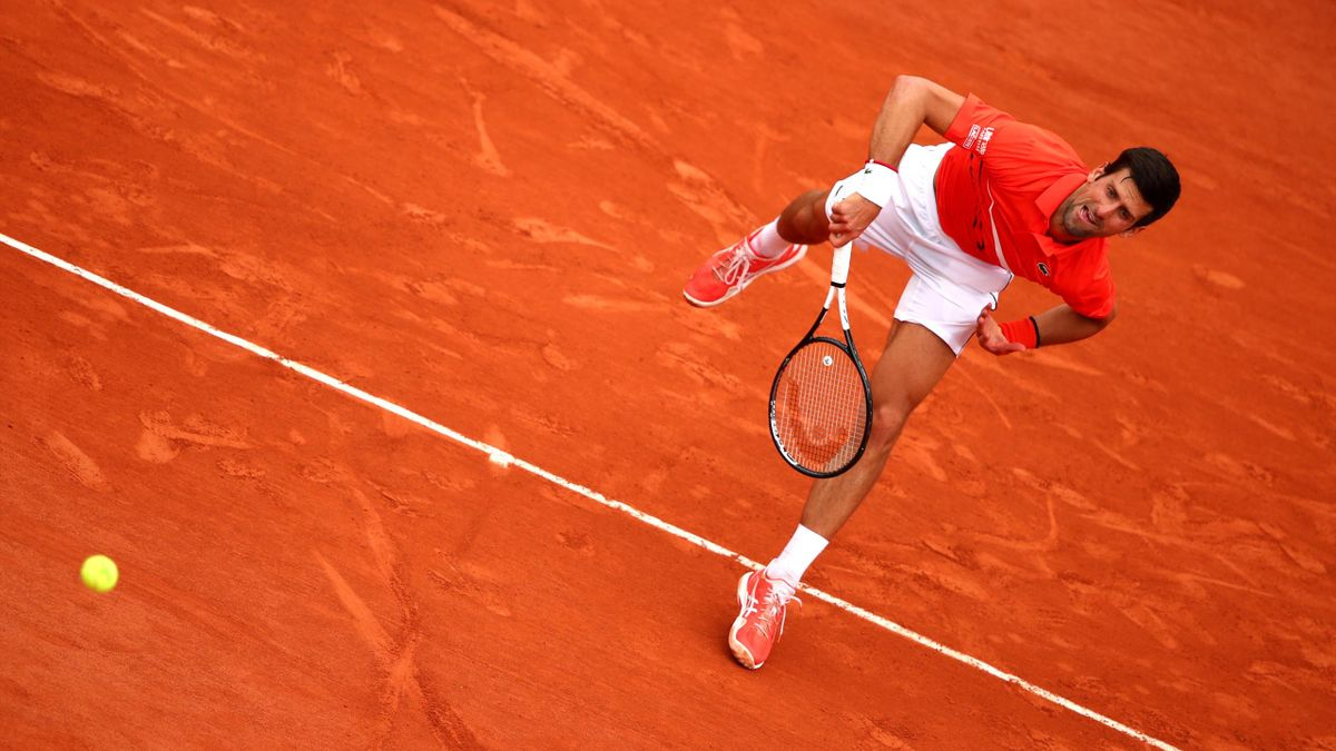 Novak Djokovic à Roland-Garros