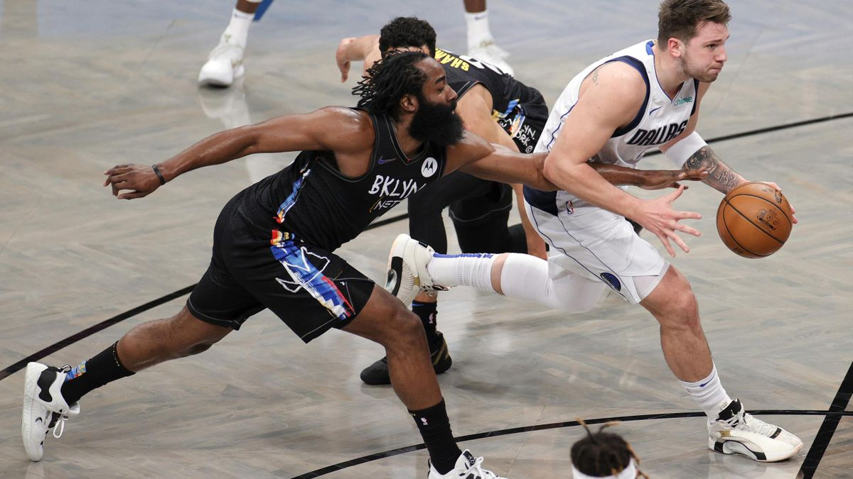 Harden-Doncic, Nets vs Mavericks