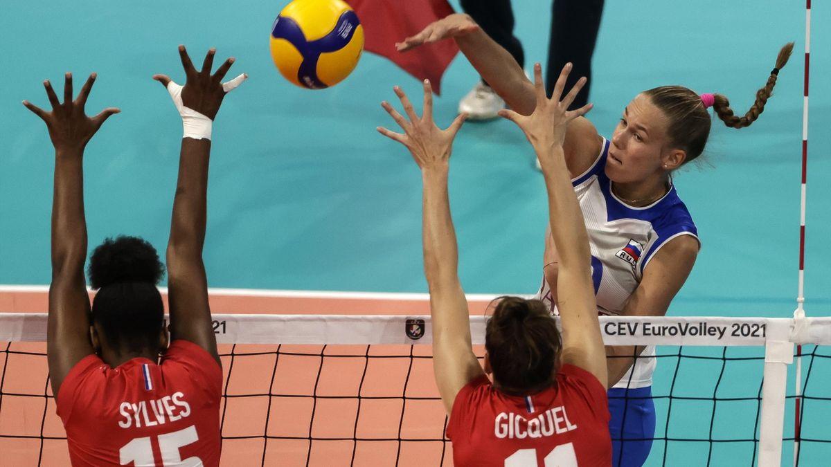 La France battue par la Russie pour son premier match dans cet Euro féminin.