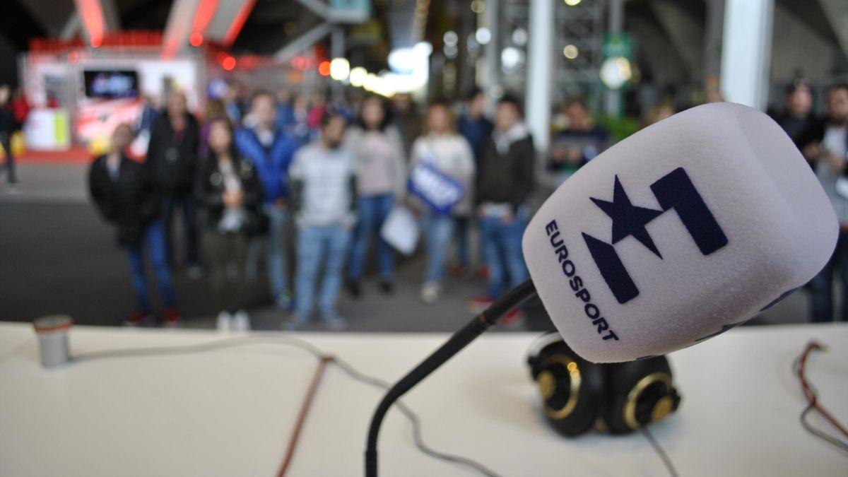 Micrófono Eurosport